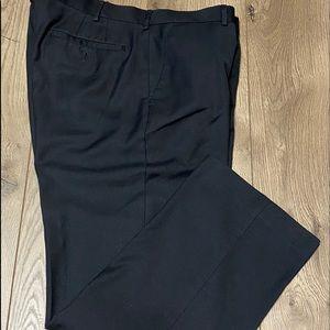 Men's black dress pant